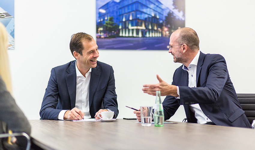 Kai Hoffmann und Dirk Matura Geschäftsführung